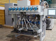Hydraulic pump test stands for units of pump stations